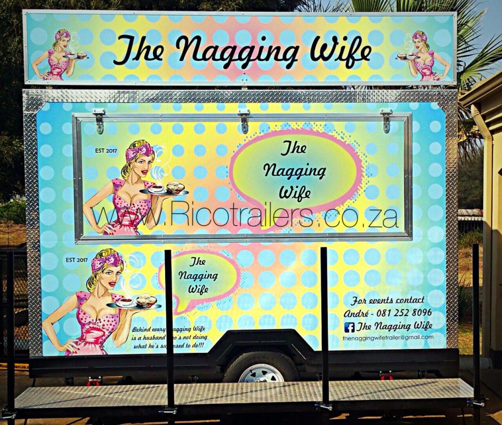 Mobile Kitchen Trailer - ELITE - Branded by Rico Trailers South Africa