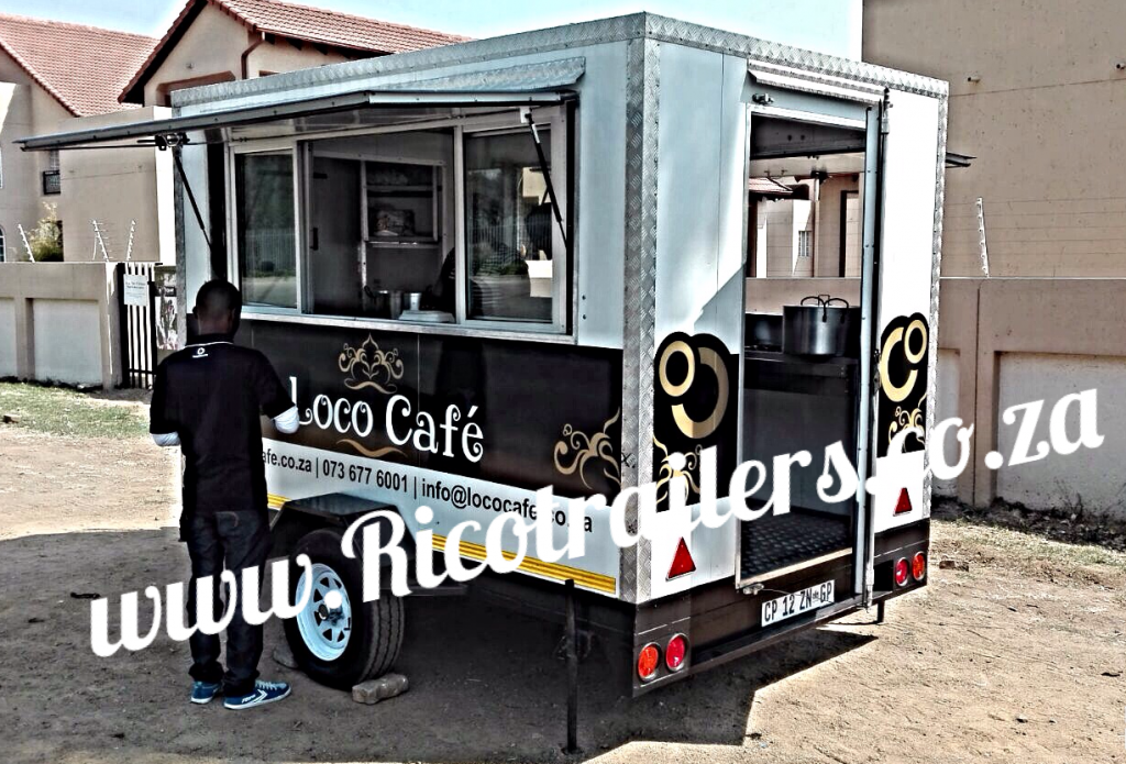 Rico Trailers Mobile Kitchen Custom Design