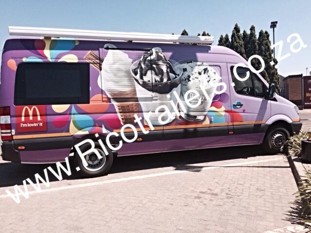 Mobile Food Vending Truck