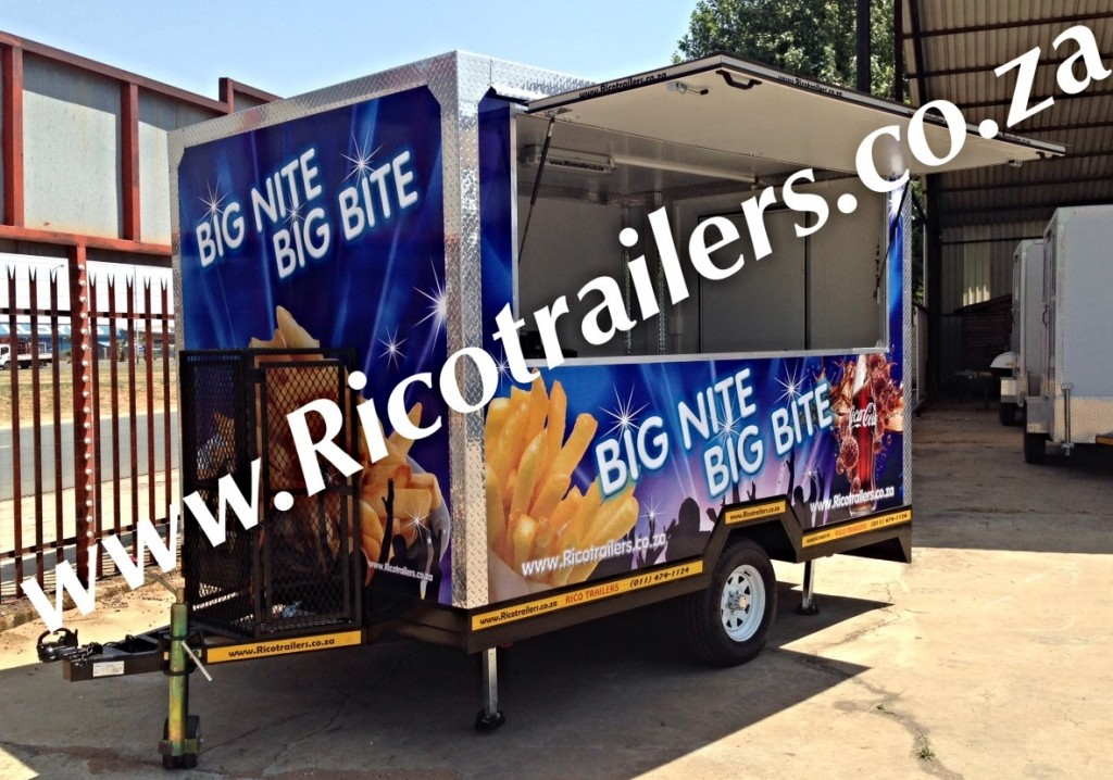 Mobile Catering Kiosk Trailer