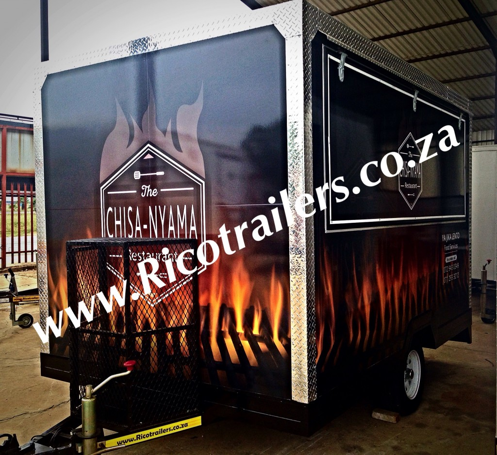 Rico Trailers - Elite - Mobile Kitchen Trailer