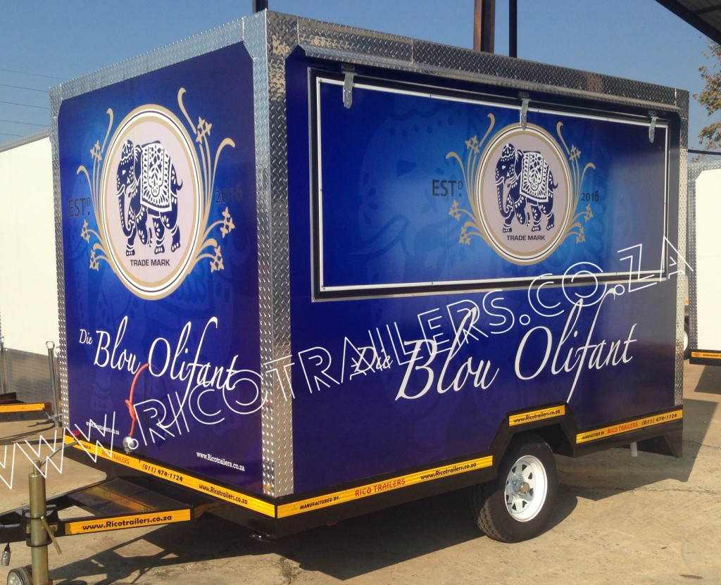Rico Trailers SA - Mobile Kitchen Trailer - Elite - Branded