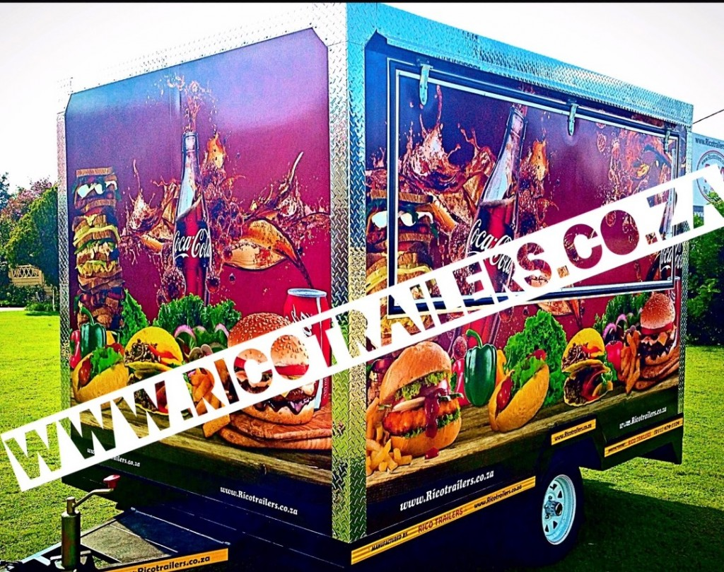 Rico Trailers SA - Mobile Kitchen Trailers - Elite Model - Branded