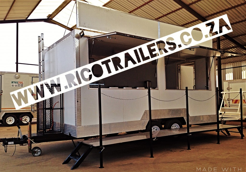 Rico Trailers SA - Mobile Kitchen Trailer - Double Deluxe Trailer