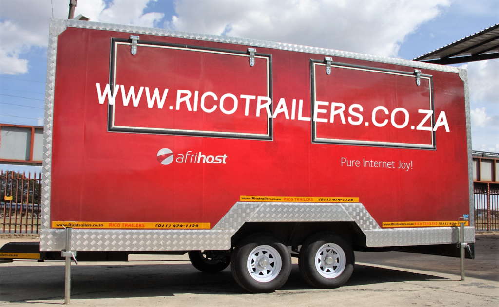 Rico Double Deluxe - Mobile Kitchen Trailer