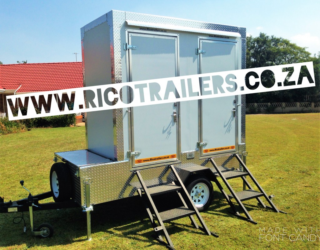 Rico Trailers SA - Mobile Toilet Trailer - GOLD MODEL