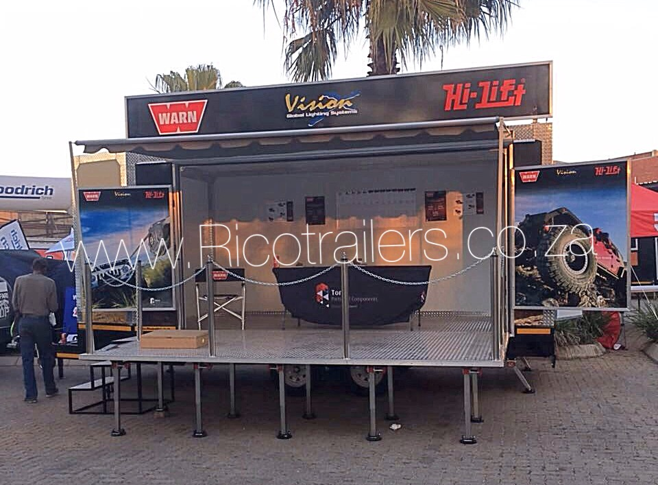 Mobile Marketing and Events Trailer - Rico Trailers