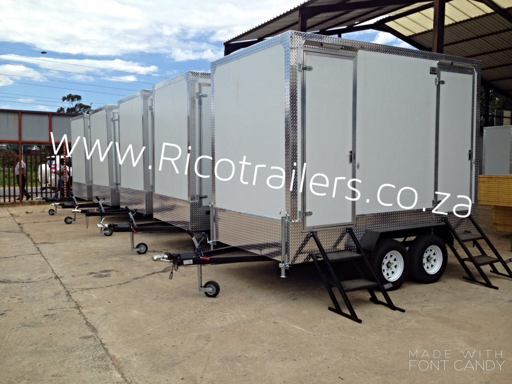 Rico Trailers - Mobile Toilet Trailers
